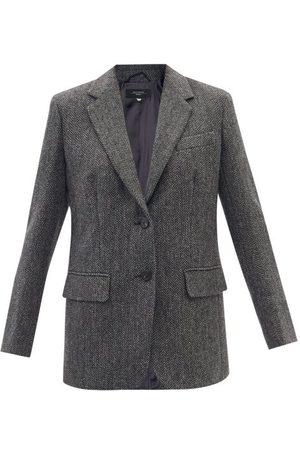 Max Mara Grammo Jacket - Womens - Dark Grey