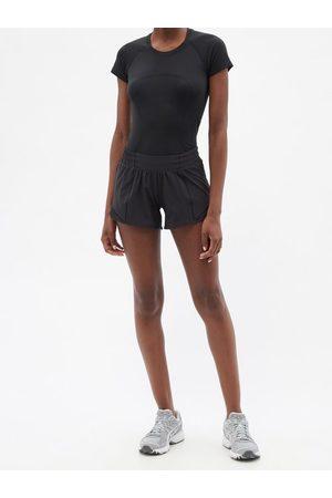 "Lululemon Hotty Hot 4"" Recycled Fibre-blend Running Shorts - Womens"