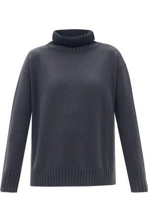 Max Mara Agadir Sweater - Womens - Dark Grey