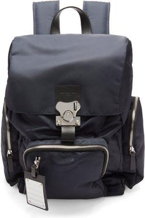 FPM Milano Men Rucksacks - Butterfly Medium Leather-trim Nylon Backpack - Mens