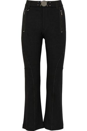 HIGH Women Slim - Raring belted slim-leg trousers