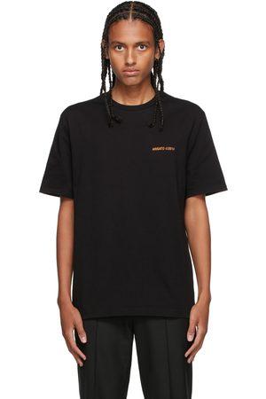 Axel Arigato SSENSE Exclusive Black & Orange London T-Shirt