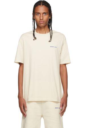 Axel Arigato SSENSE Exclusive Off-White & Blue London T-Shirt
