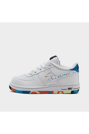 Nike Kids' Toddler Air Force 1 LV8 1 Casual Shoes Size 4.0 Leather