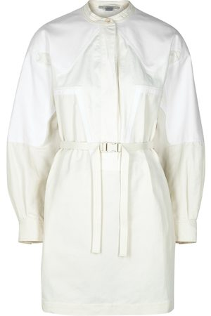 Stella McCartney Liana off- belted mini dress
