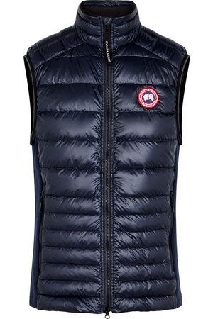 Canada Goose Hybridge Lite navy quilted shell gilet