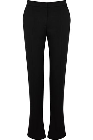 Alexander McQueen Women Slim - Slim-leg wool trousers