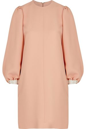 Victoria, Victoria Beckham Light crepe mini dress