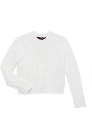 Imoga Little Girl's & Girl's Cable Knit Cardigan