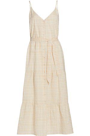 Paige Paprika Seersucker Dress