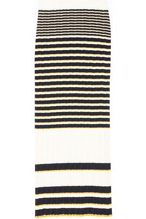 THEORY Irregular Rib-Knit Skirt