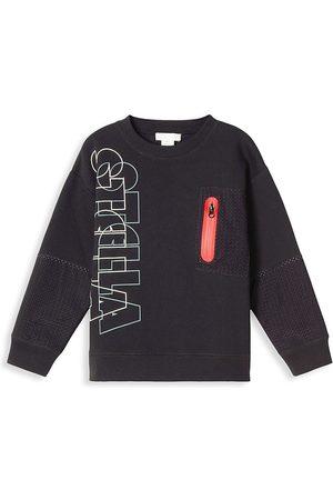 Stella McCartney Little Boy's & Boy's Outline Logo Sweatshirt