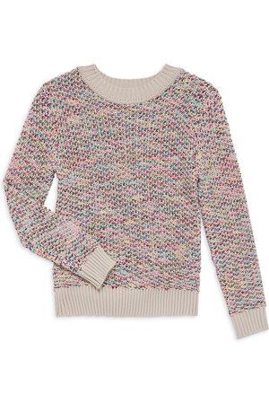 Imoga Girl's Sweet Harmony Mirage M lange Knit Sweater