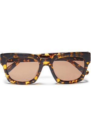 Ganni Woman Alice Square-frame Tortoiseshell Acetate Sunglasses Size