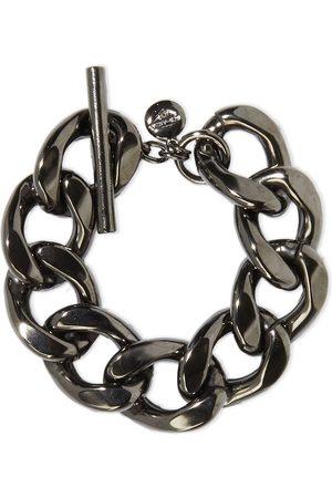 BEN-AMUN Woman Gunmetal-tone Bracelet Gunmetal Size