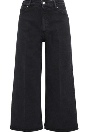IRO Woman Mereo Cropped High-rise Wide-leg Jeans Size 26