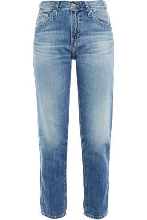 AG Jeans Woman Faded Boyfriend Jeans Mid Denim Size 24