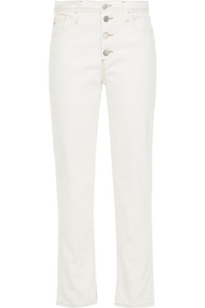 AG Jeans Woman High-rise Straight-leg Jeans Size 25