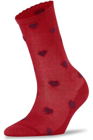 Falke Velour Beat Heart Socks