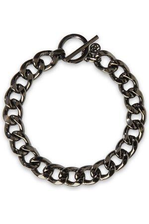 BEN-AMUN Woman Gunmetal-tone Necklace Gunmetal Size
