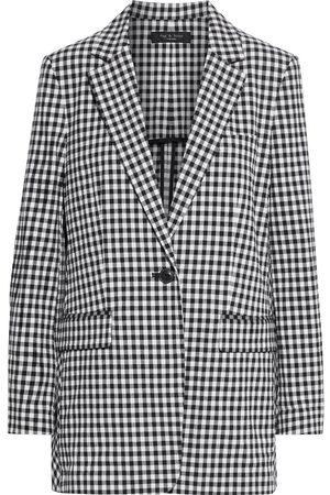 RAG&BONE Woman Ames Gingham Cotton-blend Blazer Size 0