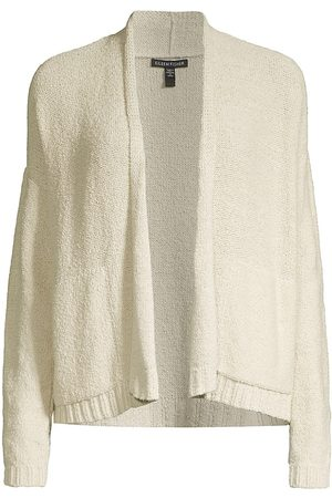 Eileen Fisher Cotton Long Sleeve Cardigan