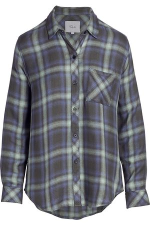 Rails Hunter Faded Plaid Button-Up