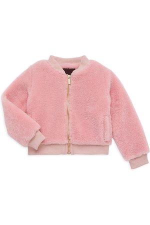 Imoga Little Girl's & Girl's Teddy Bomber Jacket