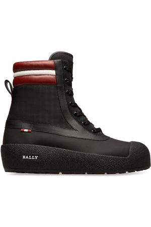 Bally Curling Croker Shearling-Lined Boots