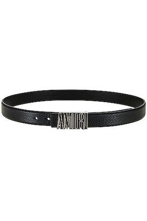 AMIRI Enamel Buckle Belt in