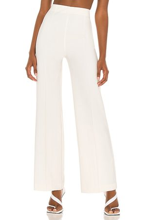 NBD Aubrie Wide Leg Pant in Ivory.