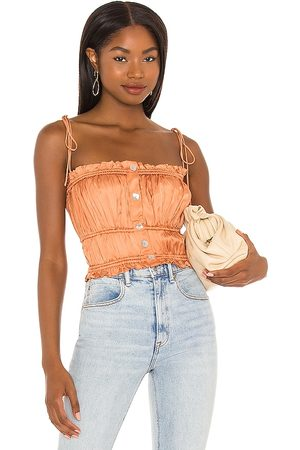 Song of Style Layla Cami in Peach.