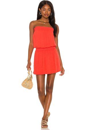 MICHAEL STARS X REVOLVE Tube Dress in Burnt Orange.
