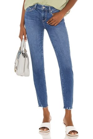 Paige Verdugo Ankle Jean in Blue.