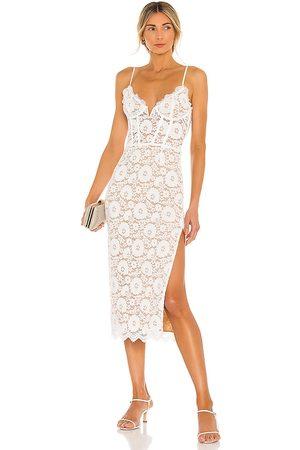 V. Chapman Giselle Dress in White.