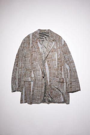 Acne Studios FN-MN-SUIT000217 /brown Soft suit jacket