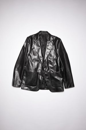 Acne Studios FN-MN-LEAT000147 Leather suit jacket