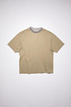Acne Studios FN-MN-TSHI000349 Logo collar t-shirt