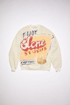 Acne Studios FN-WN-SWEA000165 /peach Printed sweatshirt