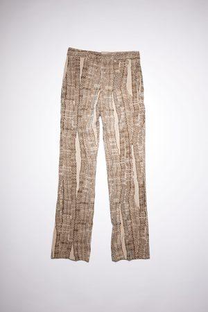 Acne Studios Men Formal Pants - FN-MN-TROU000545 /brown Suit trouser