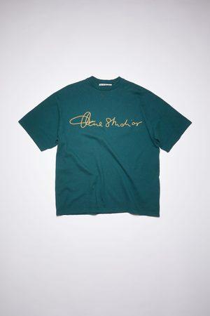 Acne Studios FN-MN-TSHI000328 Cotton logo t-shirt
