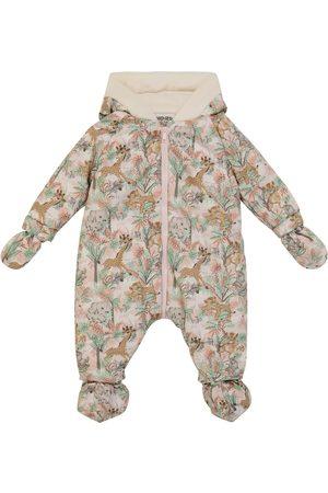 Kenzo Baby printed snowsuit