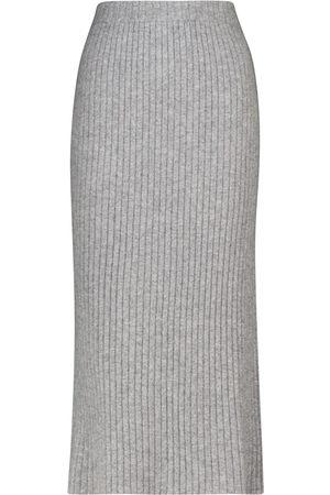 Jardin des Orangers Cashmere knit midi skirt