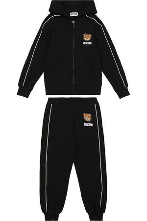 Moschino Stretch-cotton hoodie and sweatpants set