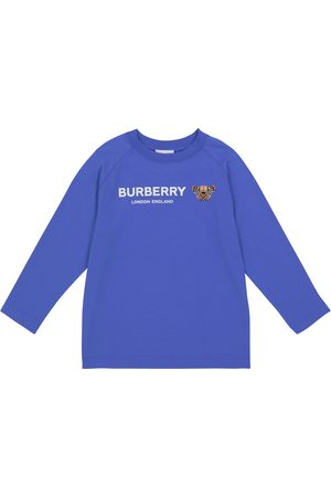 Burberry Long Sleeve - Bear cotton long-sleeved T-shirt
