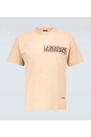 Jacquemus Le T-shirt Montagne cotton T-shirt