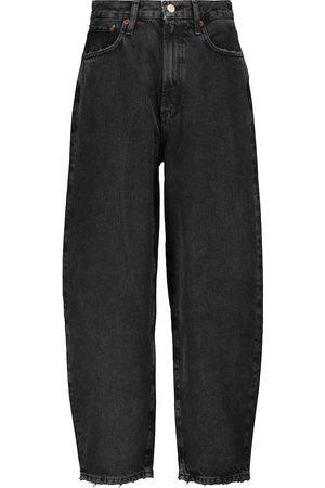 AGOLDE High-rise wide-leg jeans