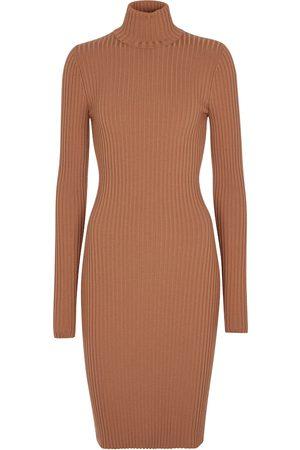 Wolford Ribbed stretch-wool minidress