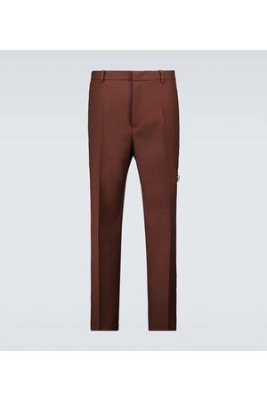 Jil Sander Slim-fit wool pants