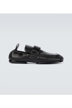DRIES VAN NOTEN Padded leather shoes